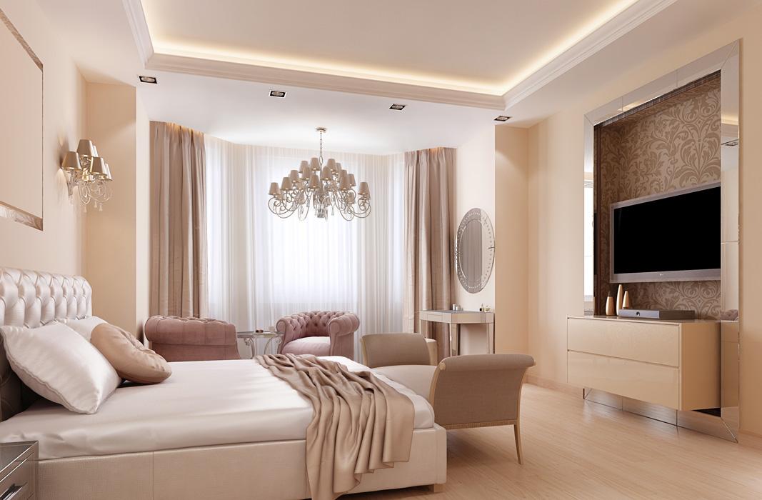 Ремонт спальня 15 квМ